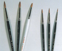 Fine brushes for fine work
