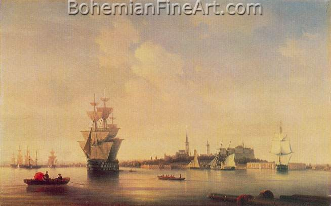 Ivan Konstantinovich Aivazovsky, Revel Fine Art Reproduction Oil Painting