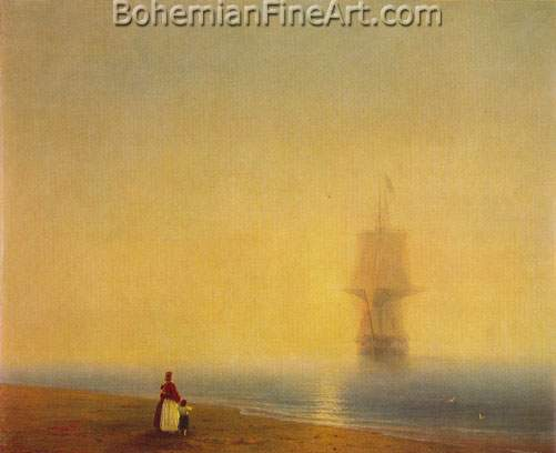 Ivan Konstantinovich Aivazovsky, Morning at Sea Fine Art Reproduction Oil Painting