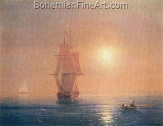 Ivan Konstantinovich Aivazovsky, The Sea Fine Art Reproduction Oil Painting