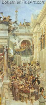 Sir Lawrence Alma-Tadema, Spring Fine Art Reproduction Oil Painting