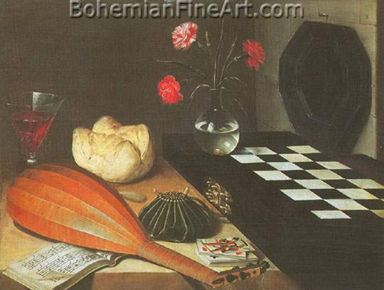 Lubin Baugin, The Five Senses Fine Art Reproduction Oil Painting