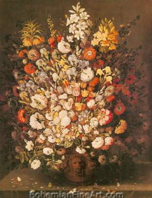 Osias Beert the Elder, Large Flowerpiece Fine Art Reproduction Oil Painting