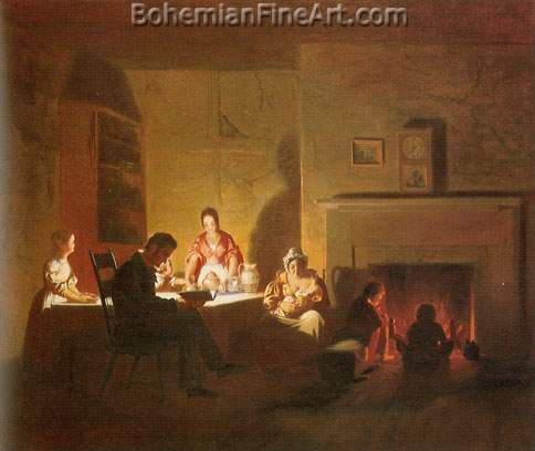 George Caleb Bingham, Family Life on the Frontier Fine Art Reproduction Oil Painting