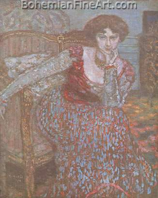 Pierre Bonnard, Portrait of a Woman Fine Art Reproduction Oil Painting