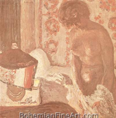 Pierre Bonnard, Nude in a Lamplight Fine Art Reproduction Oil Painting