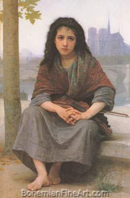 Adolphe-William Bouguereau, The Bohemian Fine Art Reproduction Oil Painting