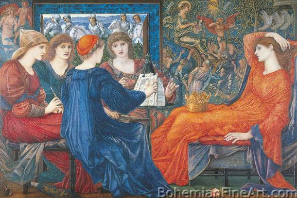 Edward Burne-Jones, Laus Veneris Fine Art Reproduction Oil Painting
