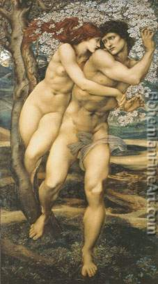 Edward Burne-Jones, The Tree of Forgiveness Fine Art Reproduction Oil Painting