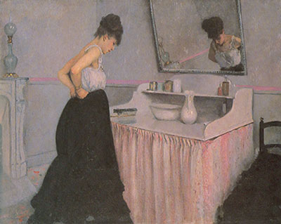 Gustave Caillebotte, Femme a sa Toilette Fine Art Reproduction Oil Painting