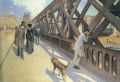 Gustave Caillebotte, The Europe Bridge Fine Art Reproduction Oil Painting