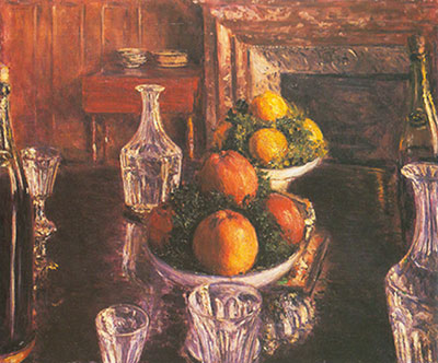 Gustave Caillebotte, Still Life Fine Art Reproduction Oil Painting