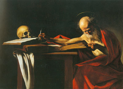 Michelangelo Caravaggio, St Jerome Fine Art Reproduction Oil Painting