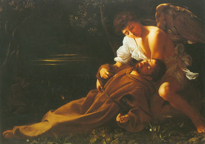 Michelangelo Caravaggio, St Francis in Ecstasy Fine Art Reproduction Oil Painting