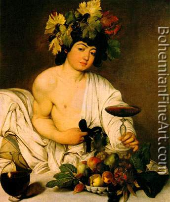 Michelangelo Caravaggio, Bacchus Fine Art Reproduction Oil Painting