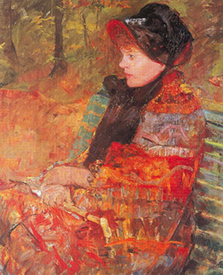 Mary Cassatt, Portrait of Lydia Cassatt Fine Art Reproduction Oil Painting