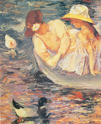 Mary Cassatt, Summertime Fine Art Reproduction Oil Painting