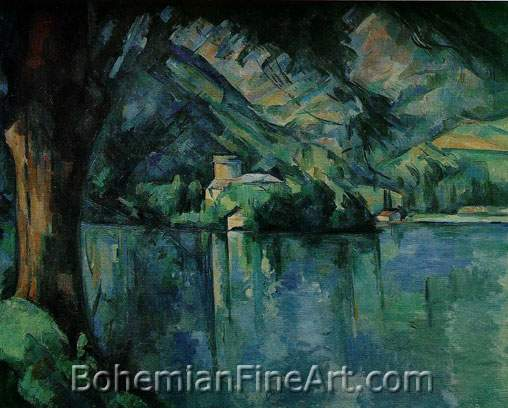 Paul Cezanne, Lake Annecy Fine Art Reproduction Oil Painting