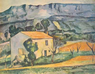 Paul Cezanne, House in Provence Fine Art Reproduction Oil Painting