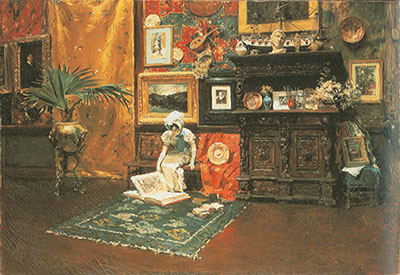 William Merritt Chase, In the Studio Fine Art Reproduction Oil Painting