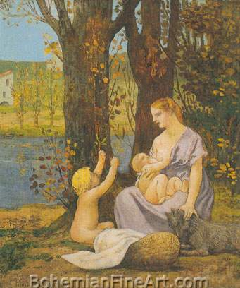 Pierre Puvis de Chavannes, Charity Fine Art Reproduction Oil Painting