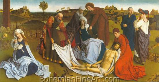 Petrus Christus, The Lamentation Fine Art Reproduction Oil Painting
