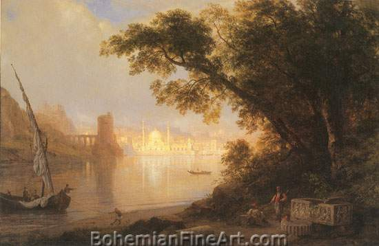 Frederic Edwin Church, Al Ayn (The Fountain) Fine Art Reproduction Oil Painting