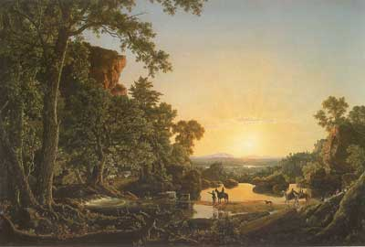 Frederic Edwin Church, Hooker and Company Journeying Fine Art Reproduction Oil Painting