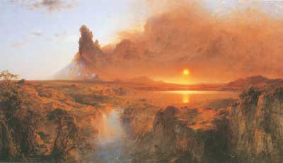 Frederic Edwin Church, Cotopaxi Fine Art Reproduction Oil Painting