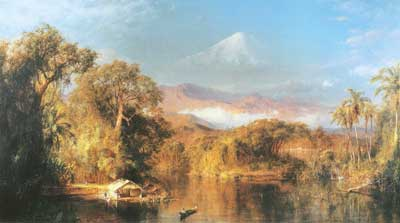 Frederic Edwin Church, Chimborazo Fine Art Reproduction Oil Painting