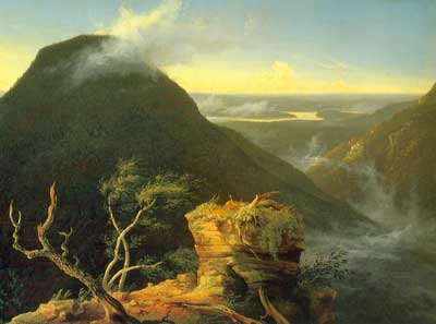 Thomas Cole, Sunny Morning on the Hudson River Fine Art Reproduction Oil Painting