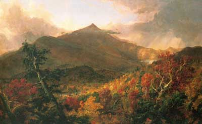 Thomas Cole, Schroon Mountain, Adirondacks Fine Art Reproduction Oil Painting