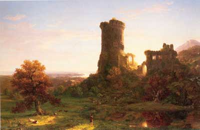 Thomas Cole, The Present Fine Art Reproduction Oil Painting