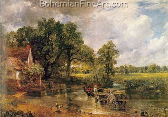 John Constable, The Hay-Wain Fine Art Reproduction Oil Painting