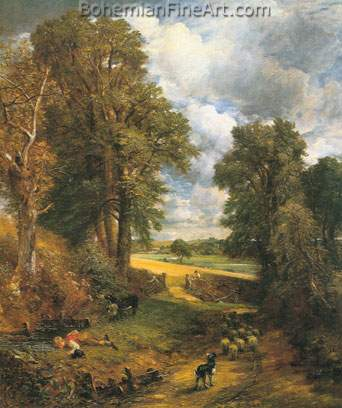 John Constable, The Cornfield Fine Art Reproduction Oil Painting