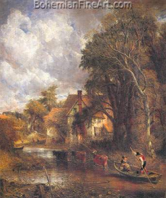 John Constable, The Valley Farm Fine Art Reproduction Oil Painting
