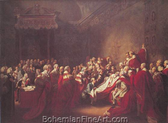 John Singleton Copley, The Death of Major Pierson Fine Art Reproduction Oil Painting