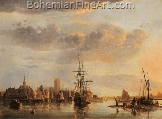 Aelbert Cuyp, Dordrecht from the North Fine Art Reproduction Oil Painting