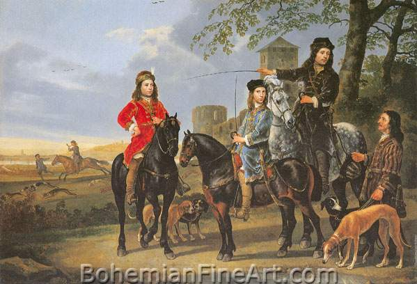 Aelbert Cuyp, Michael and Cornelius Pompe van Meerdervoort Fine Art Reproduction Oil Painting