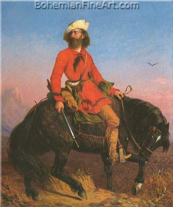 Charles Deas, Long Jakes, The Rocky Mountain Man Fine Art Reproduction Oil Painting