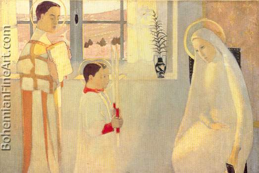 Maurice Denis, Catholic Mystery Fine Art Reproduction Oil Painting