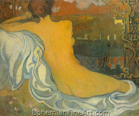 Maurice Denis, Nude at Dusk Fine Art Reproduction Oil Painting