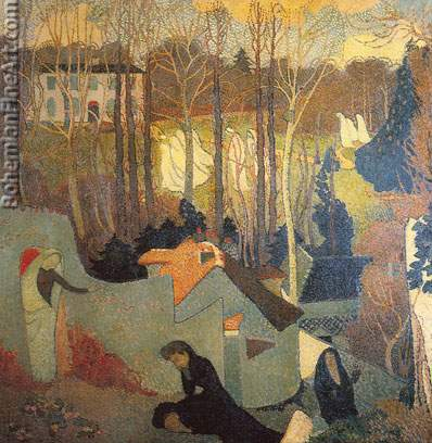 Maurice Denis, Easter Mystery Fine Art Reproduction Oil Painting
