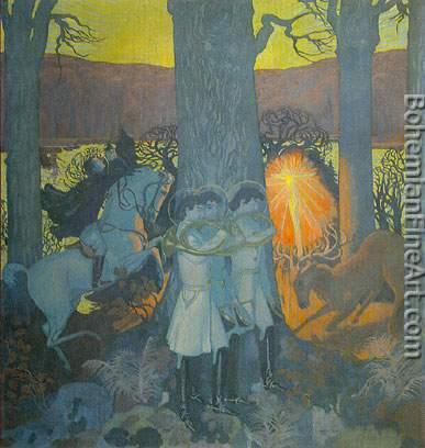 Maurice Denis, The Miracle Fine Art Reproduction Oil Painting