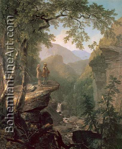 Asher Brown Durand, Kindred Spirits Fine Art Reproduction Oil Painting