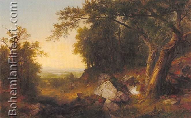 Asher Brown Durand, The American Wilderness Fine Art Reproduction Oil Painting