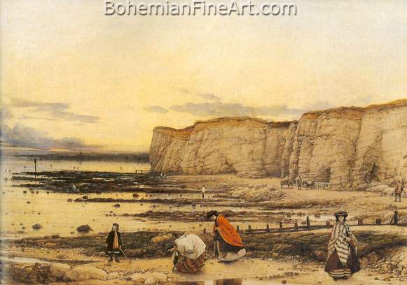 William Dyce, Pegwell Bay+ Kent Fine Art Reproduction Oil Painting