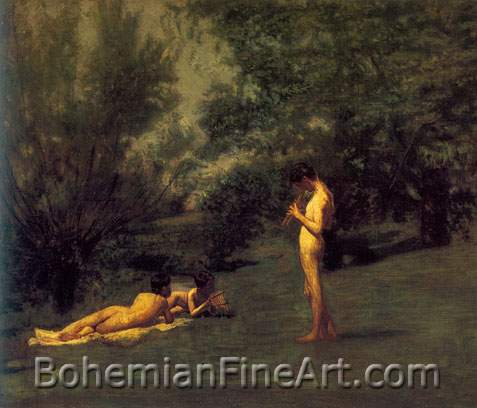 Thomas Eakins, Arcadia Fine Art Reproduction Oil Painting