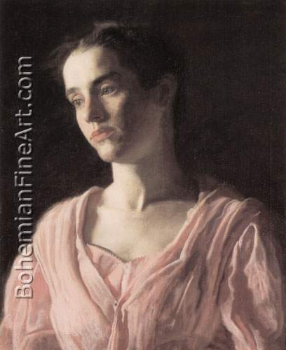 Thomas Eakins, Maud Cook Fine Art Reproduction Oil Painting