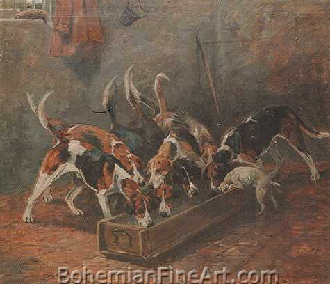 John Emms, Anticipation; Feeding Time 1 Fine Art Reproduction Oil Painting